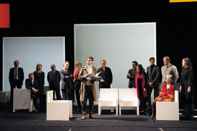 """La pièce de théâtre de Michel Vinaver """"Bettencourt Boulevard ou une histoire de France"""""""