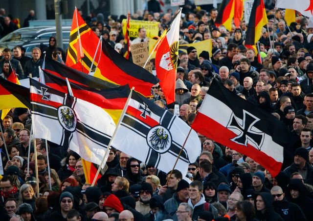 Le parti islamophobe organise des manifestations anti-migrants