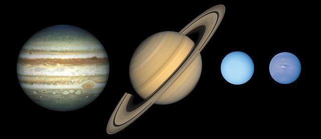 Planètes géantes