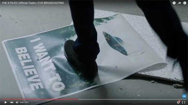 Capture écran teaser XFILES saison 10