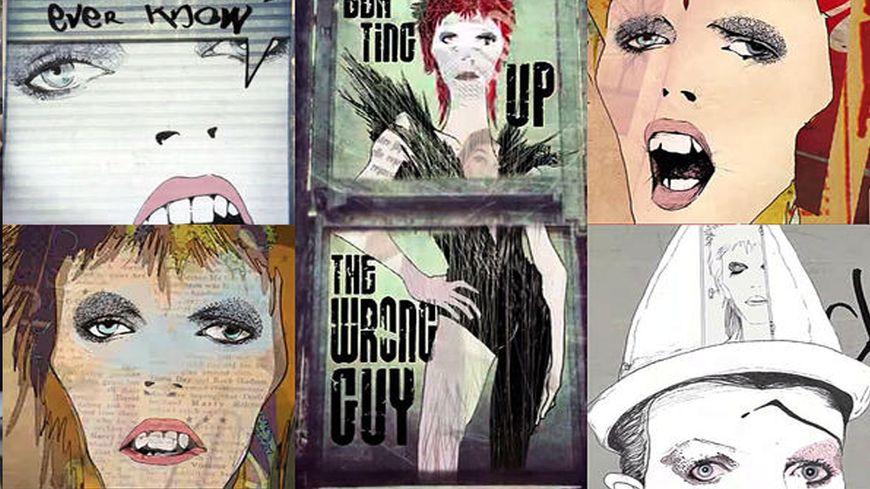 Gladys Hulot joue de la scie musicale sur le titre Life on mars de David Bowie
