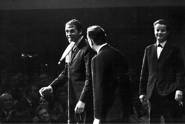 Jacques Brel, sur scène
