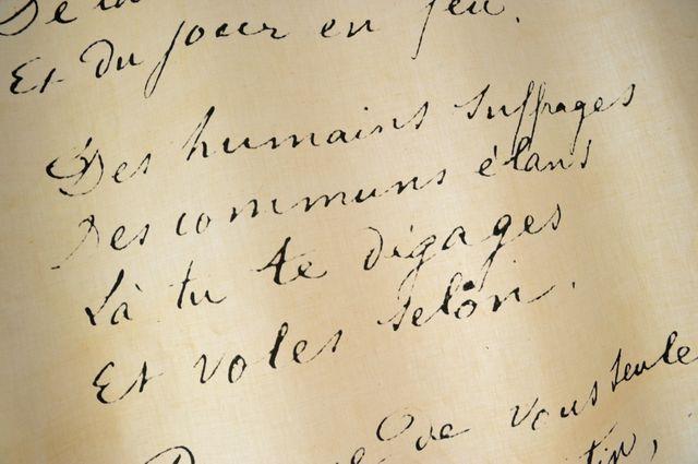 Poème d'Arthur Rimbaud