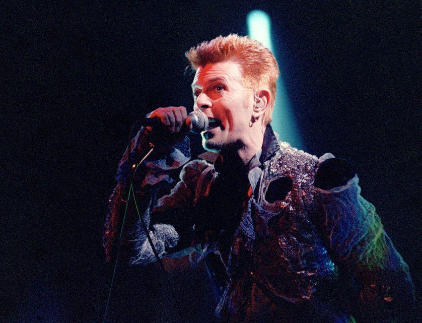 David Bowie en 1996