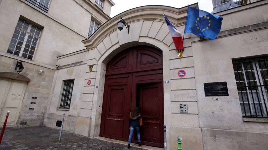 Le lycée Charlemagne, à Paris