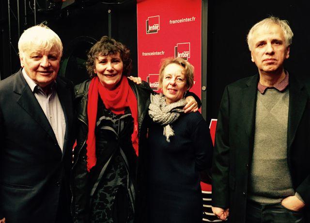 Jacques Perrin, Marie-Monique Robin, Fabienne Chauvière et Bruno Coulais