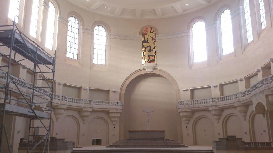 L'église du Sacré-Cœur à Grenoble