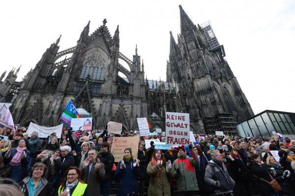 Manifestations à Cologne