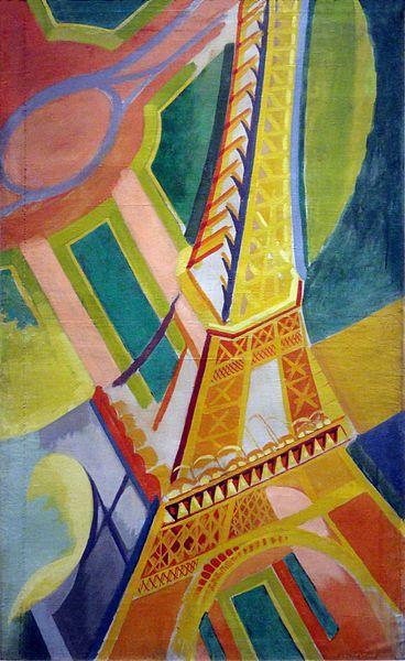 Robert Delaunay, La Tour Eiffel, 1926