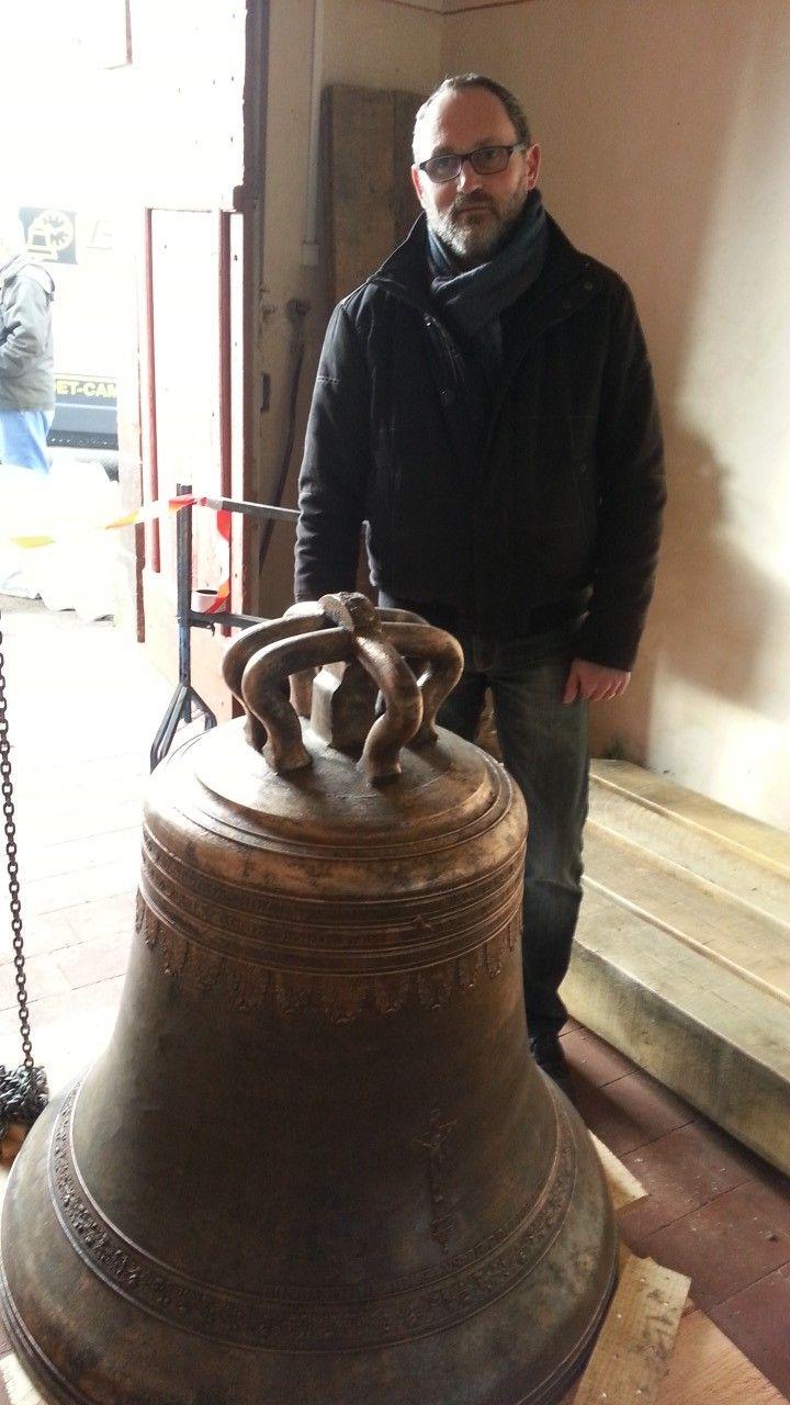 Patrick Brunet, responsable de la restauration pour l'entreprise Bodet