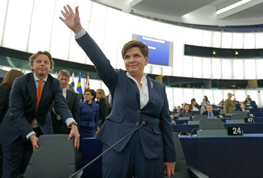 La Première ministre polonaise au Parlement européen le 19 janvier