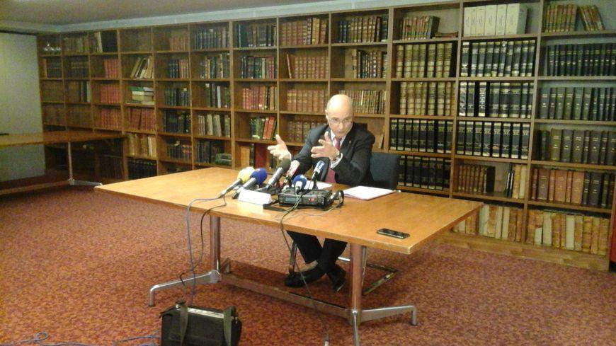 Le procureur de Marseille a tenu une conférence de presse vendredi