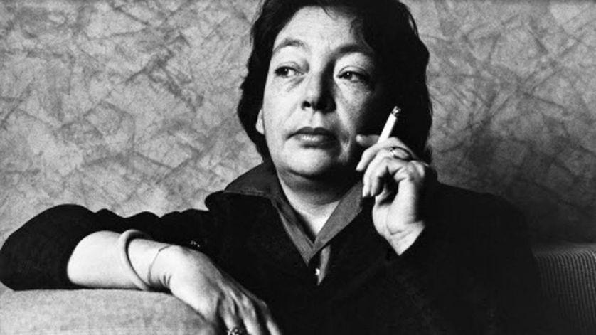 Marguerite Duras en 1989