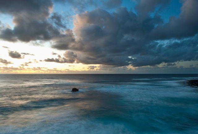 Coucher de soleil à El Golfo