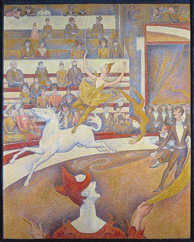 Le cirque /George Seurat