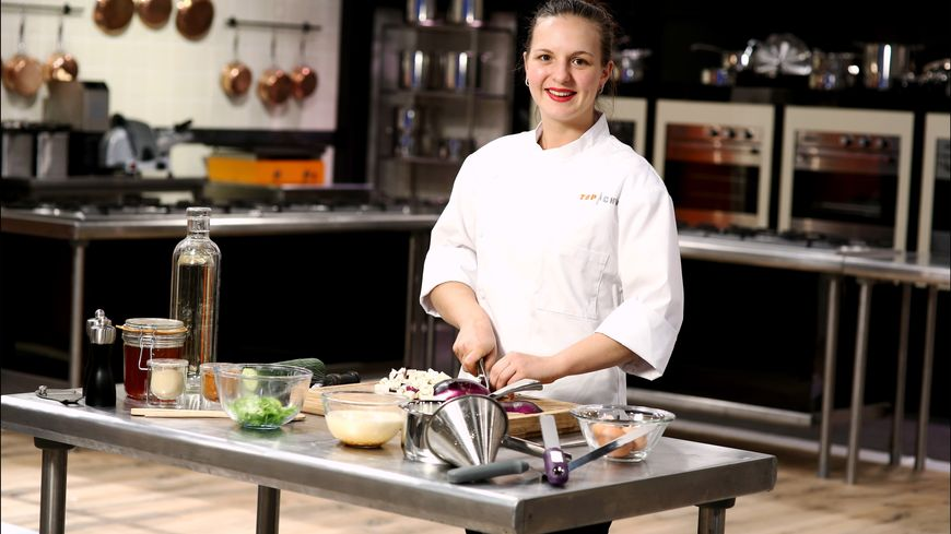 Joy-Astrid Poinsot, candidate Top Chef.