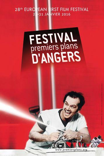 """Affiche du 28ème festival """"Premiers Plans d'Angers"""""""