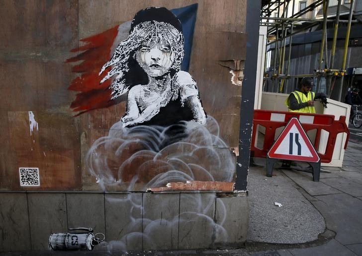 Peinture de Banksy