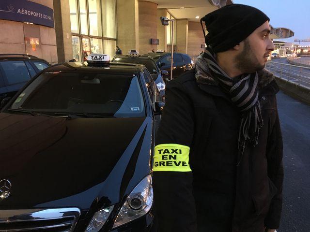Les taxis en colère ce mardi matin