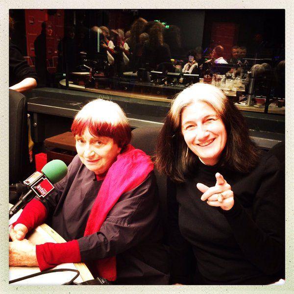 Agnès Varda et Sophie Fontanel