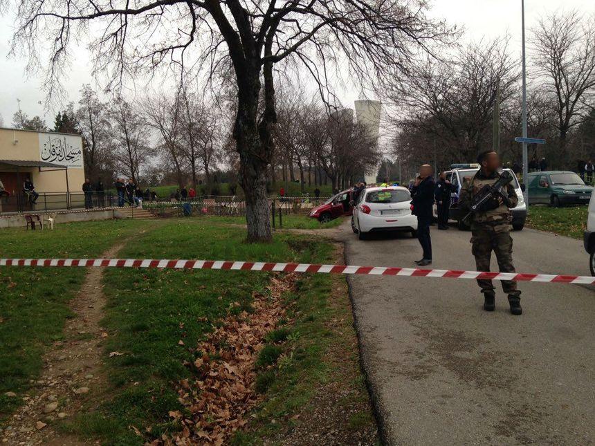 Les militaires ont été pris pour cible par un automobiliste à Valence