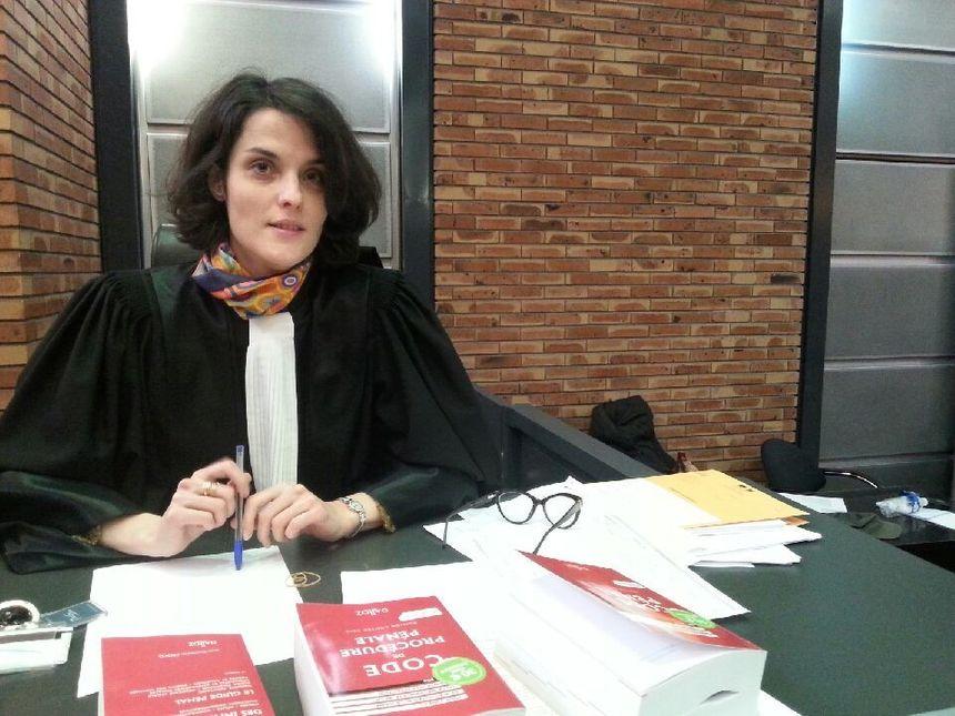 Julie Fergane, substitut du procureur.