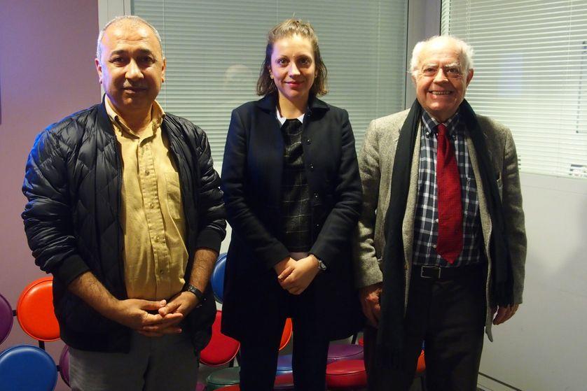 Hosham Dawod, Anne-Clémentine Larroque et Philippe Hugon