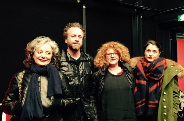 Judith Benhamou-Huet, Alberto Sorbelli, Agnès Tricoire et Déborah De Robertis