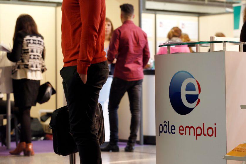Demandeurs d'emploi dans une agence