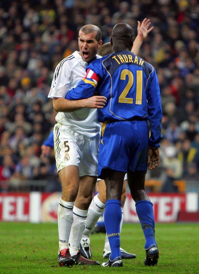 Zinedine Zidane et Lilian Thuram 2005