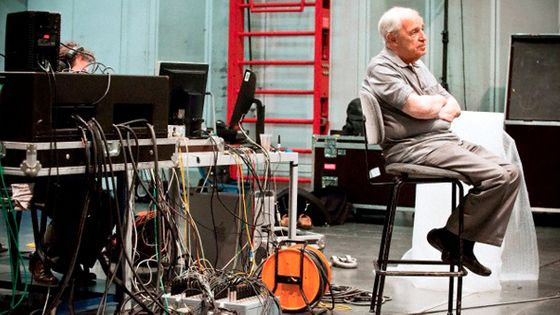 Pierre Boulez avec son Ensemble InterContemporain à l'IRCAM ©FrançoisSechet/Corbis