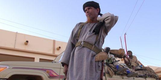 "Omar Ould Hamaha, chef militaire du Mujao dans le documentaire ""Salafistes"""