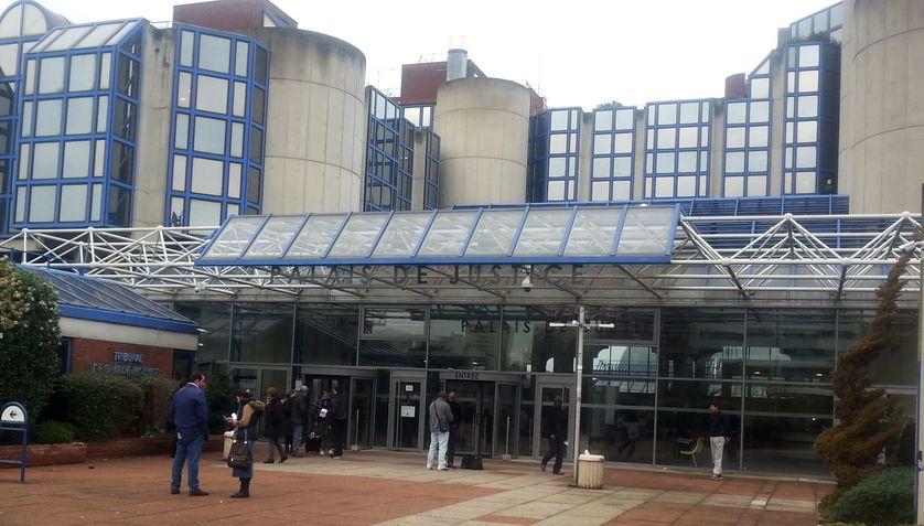 Le Palais de justice de Bobigny, en Seine-Saint-Denis, fin 2015