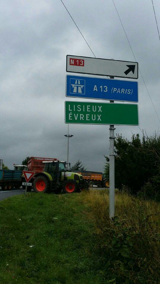 Ici à Caen lors de l'été 2015