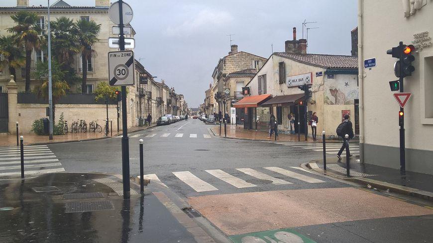 Un carrefour dangereux où l'on est passé à 30 au quartier Saint-Genès