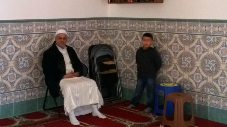 Chaouki Rifaï, l'imam de la mosquée de l'Argonne à Orléans.