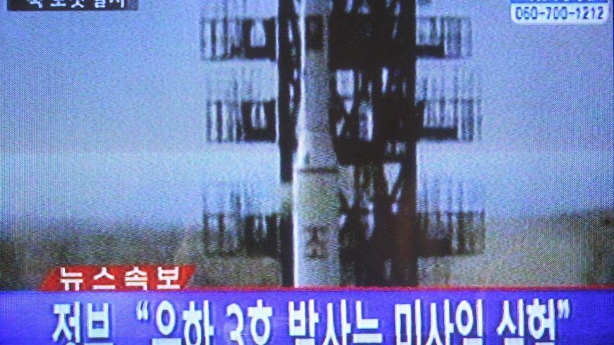 La Corée du Nord rplace sur orbite un satellite après un tir de fusée.