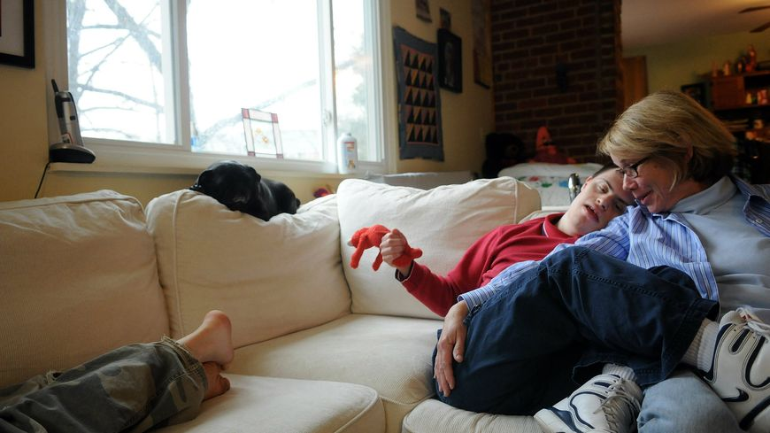 Curtis, un jeune homme souffrant du syndrome Down
