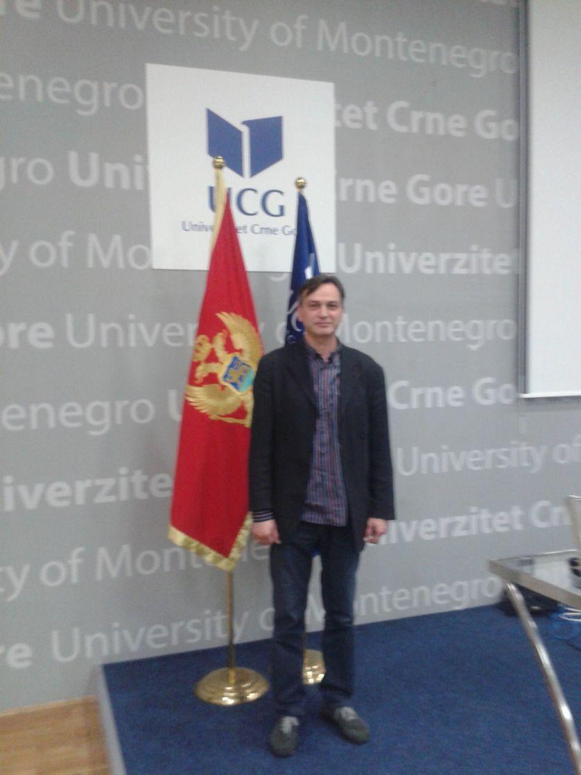 Dragan Bogojevic université du Monténégro