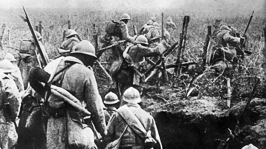 soldats lors de la bataille de Verdun