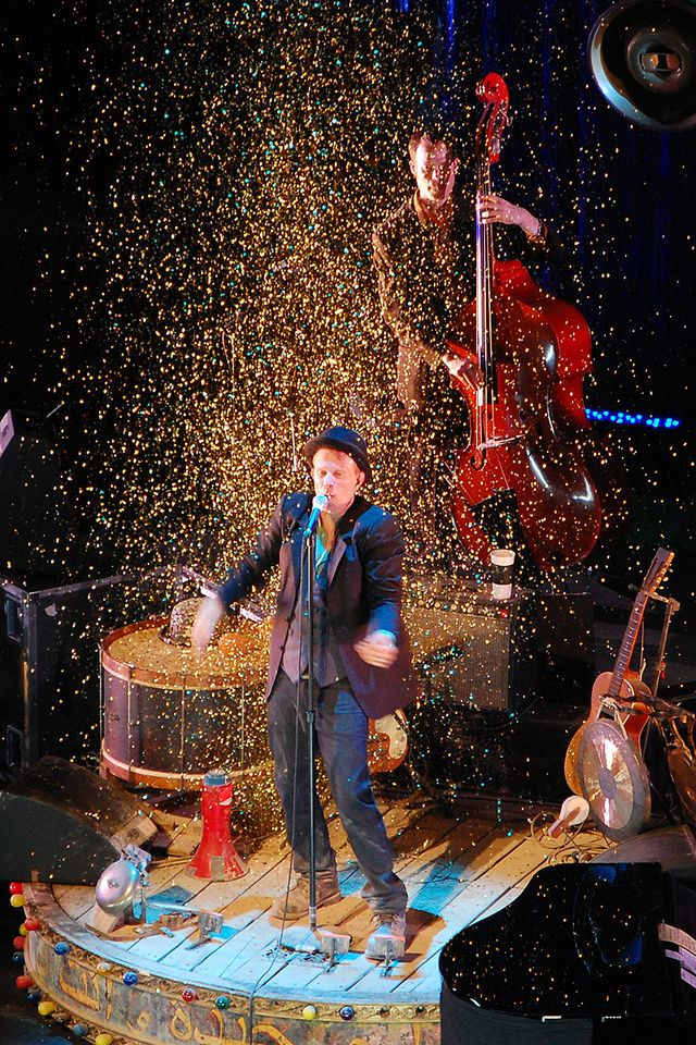 Tom Waits en concert à Prague - 2008