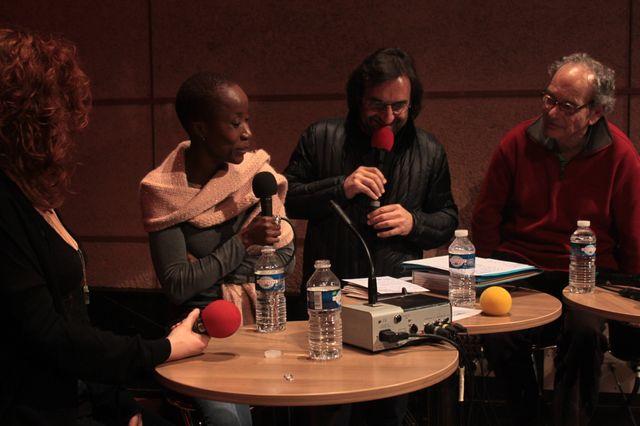 Emji, Rokia Traoré, André Manoukian, et Bernard Lortat-Jacob