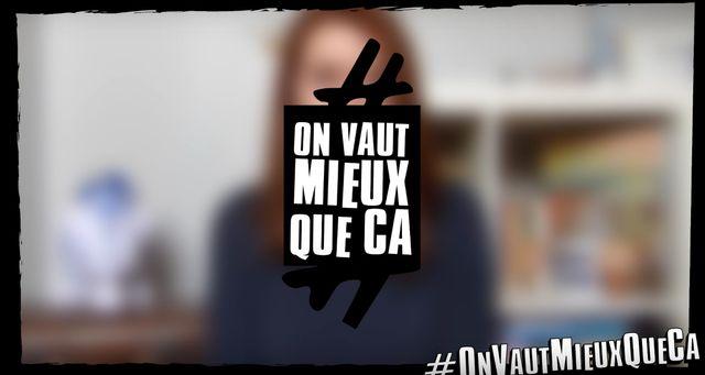 Capture d'écran de la vidéo #OnVautMieuxQueCa