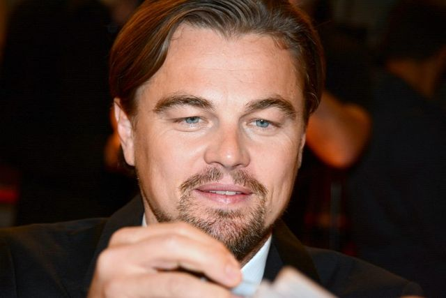 Leonardo Di Caprio in Paris at the French premiere of The Wolf of Wall Street