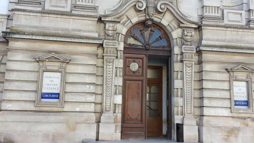 Le tribunal correctionnel de Libourne