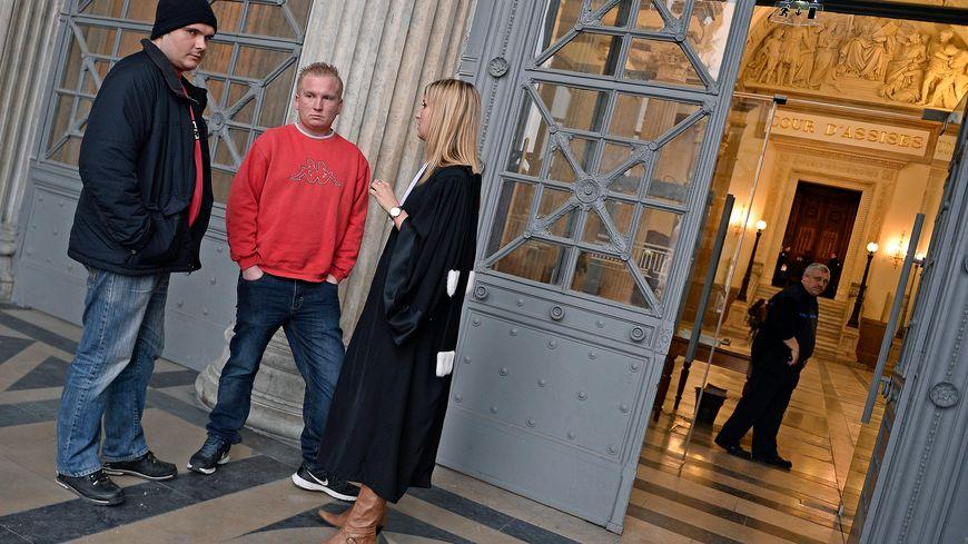 Le frères Toinon au Palais de justice de Lyon
