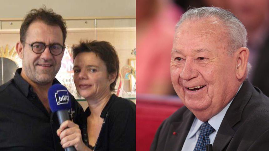 Michel Sarran et Just Fontaine