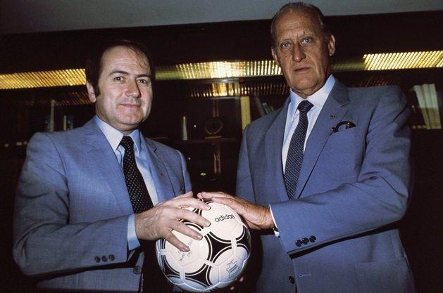 En 1982, Sepp Blatter et Joao Havelange