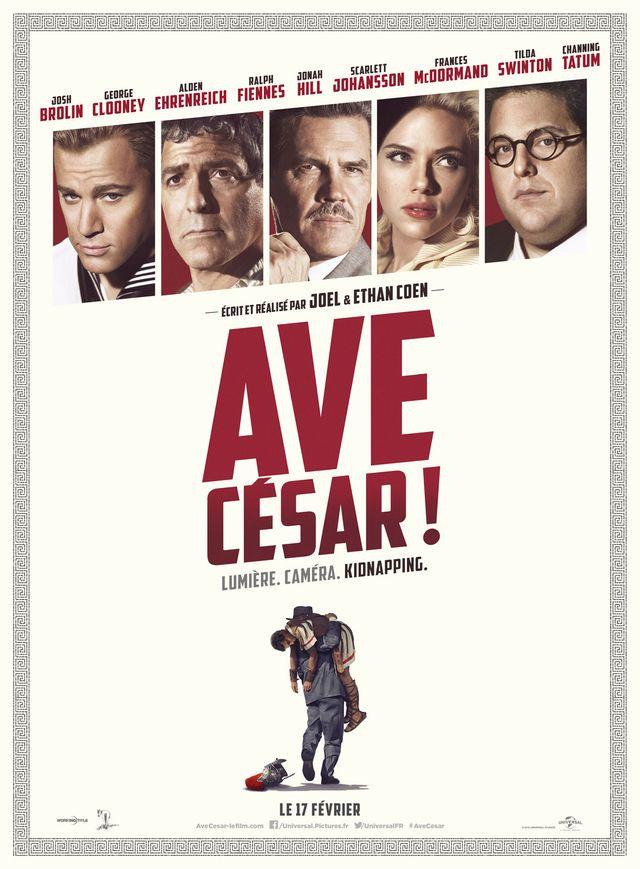 """Affiche """"Ave, César !"""""""