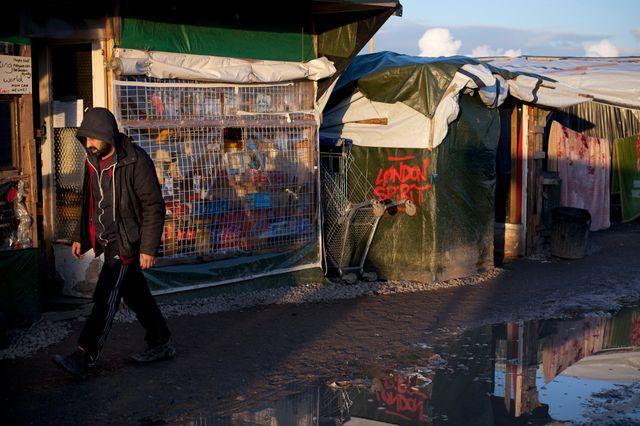 la jungle de Calais peut être évacuée pour sa partie sud